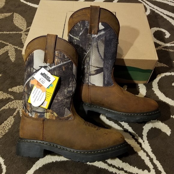 Wellington Boots Smoky Mountain Men`s Boots Black Color